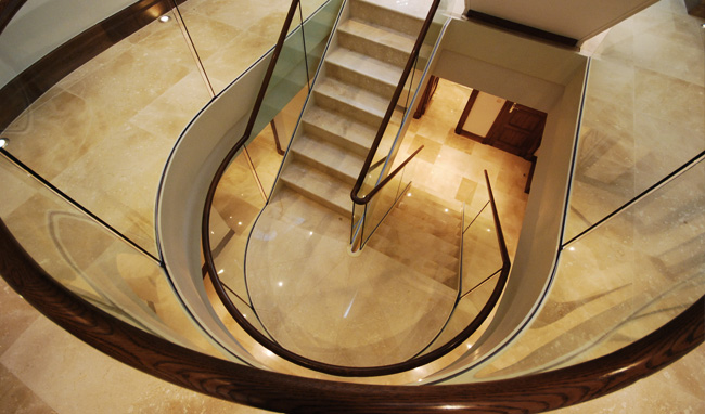 "Haldane UK  & Diapo ""Handrail at its best"""