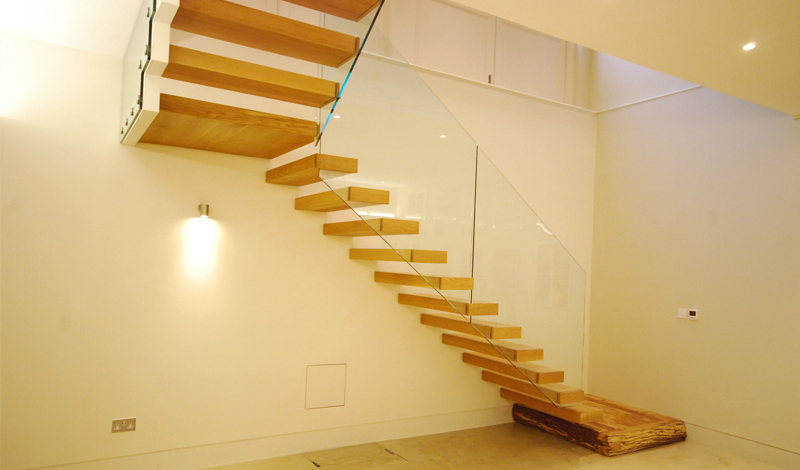 Cantilever Stairs_St Lukes Mews, Notting Hill